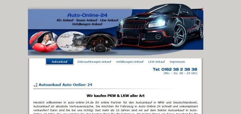 Wir kaufen Gebrauchtwagen und Unfallwagen in Gelsenkirchen