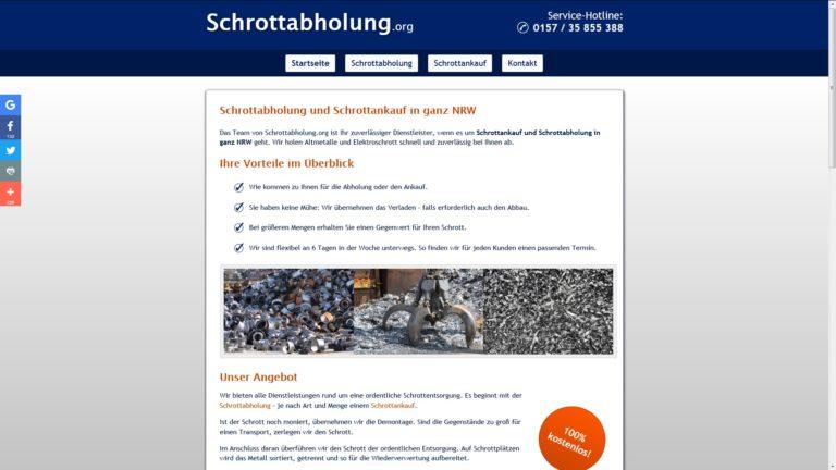 Altmetall loswerden leicht gemacht mit der Schrottabholung Köln