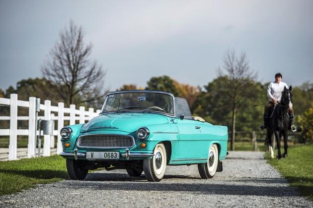 Das elegante Cabriolet SKODA FELICIA feierte vor 60 Jahren seine Weltpremiere