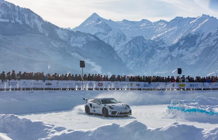 Eine Legende ist zurück in Zell am See-Kaprun: Spektakuläres Eisrennen ging nach 45 Jahren in erfolgreiche Neuauflage
