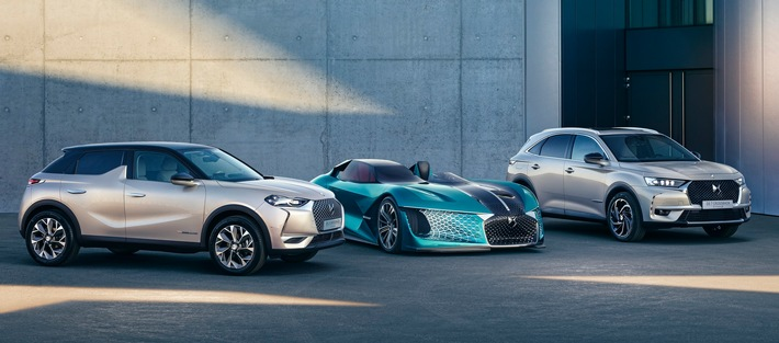 DS Automobiles positioniert sich als Marktführer für elektrifizierte Premium-SUVs