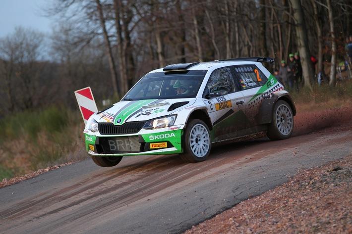 Rallye Stemweder Berg: SKODA Pilot Fabian Kreim will Siegesserie in Ostwestfalen fortsetzen