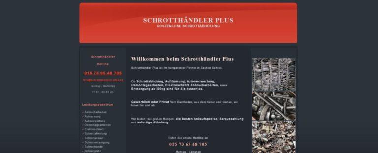 Freuen Sie sich über die fairen Preise beim Schrottankauf Oberhausen