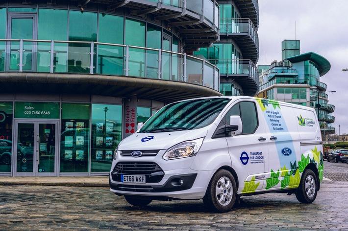 Studie: Nutzfahrzeuge mit Plug-in Hybrid-Antrieb sind eine praxisorientierte Lösung für bessere Luft in Städten