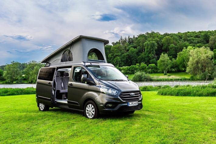 Big Nugget und Flexibus – Ford präsentiert zwei Weltpremieren auf dem Caravan Salon
