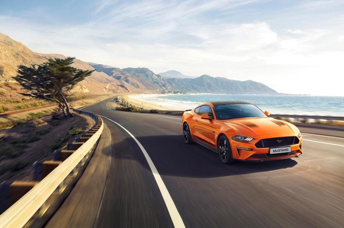 Ford Mustang55: Neues Jubiläumsmodell basiert auf dem Mustang GT