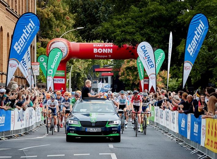 SKODA ist erneut engagierter Partner des Radsport-Highlights Deutschland Tour