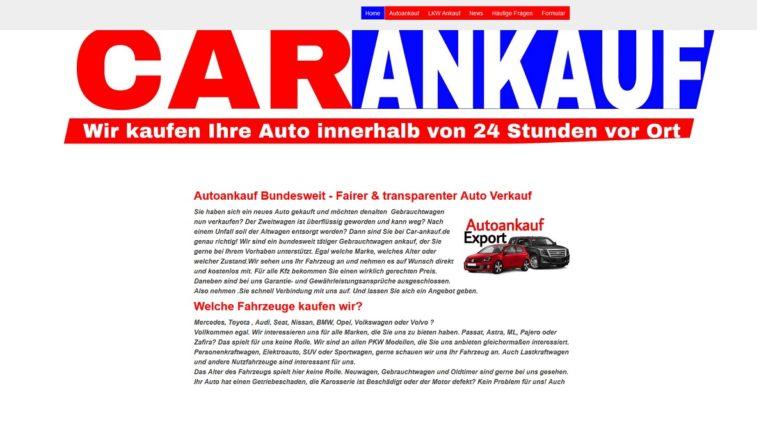 Autoankauf Waiblingen – Fairer & transparenter Auto Verkauf