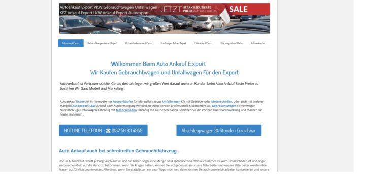 Autoankauf Trier kauf alle Fahrzeuge jeden Zustand