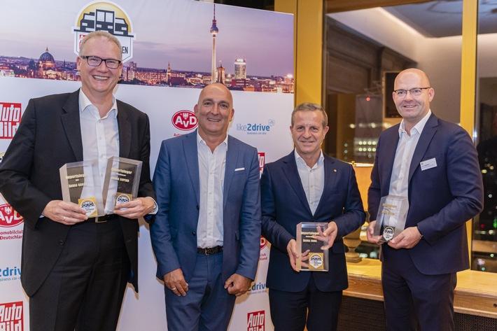 Firmenwagen-Award 2019: Rekordergebnis für SKODA bei AUTO BILD-Leserwahl