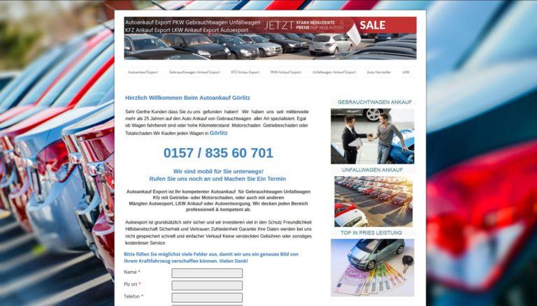Auto-Ankauf-Exports.de unkomplizierten Autoankauf zu Bestpreisen