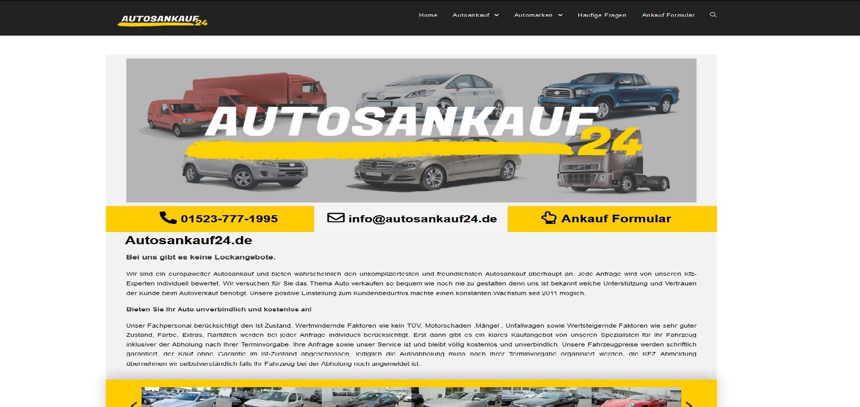 autosankauf24.de Autoankauf Dortmund