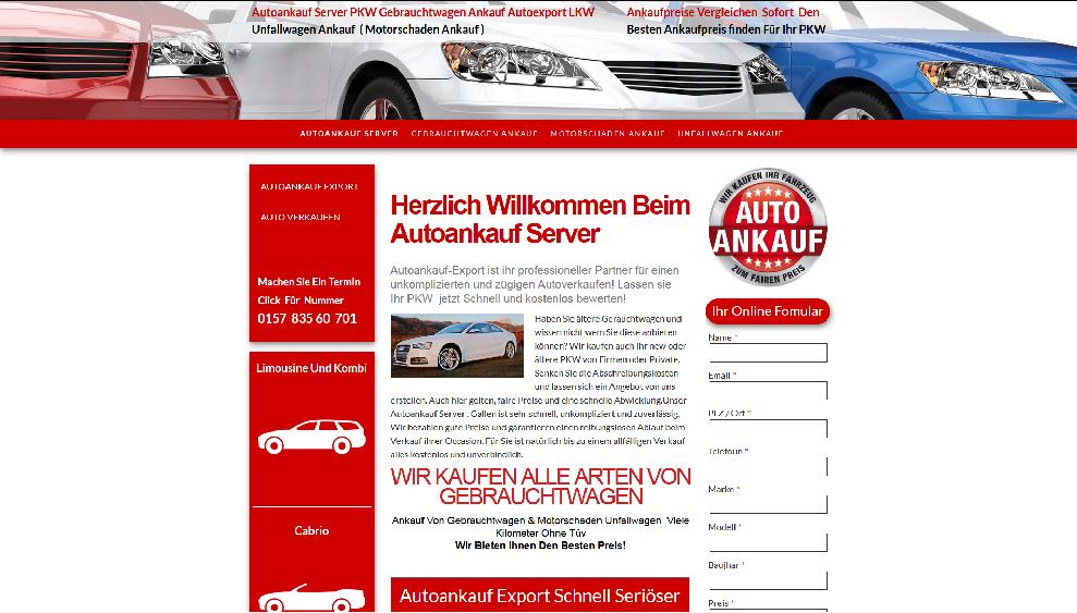 Autoankauf-Server.de   Autoankauf Stolberg   Autoankauf Export Stolberg