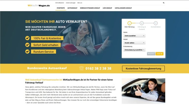 Autohändler in Unna : Autoankauf Unna kauft jeden Gebrauchtwagen an!