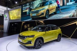 Der neue KAMIQ GT: Fünftes SKODA SUV für den chinesischen Markt feiert Messepremiere in Guangzhou