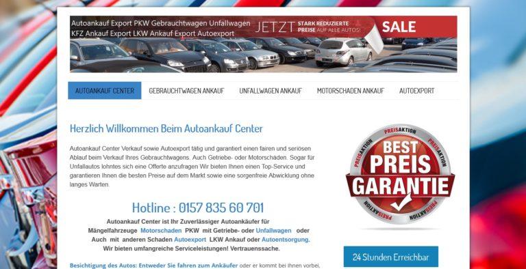 Autoankauf Lüdenscheid kauft Alle Kfz