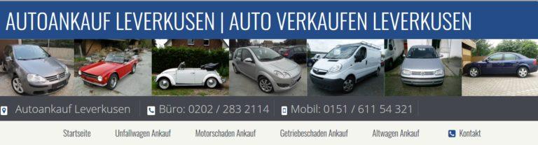 Autoankauf Leverkusen – schnell und einfach Autos verkaufen