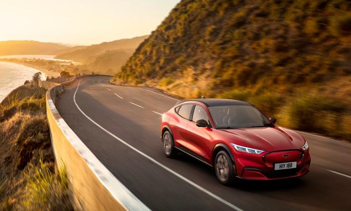 "Ford Mustang Mach-E bei ""Go Electric""-Roadshow vorgestellt"
