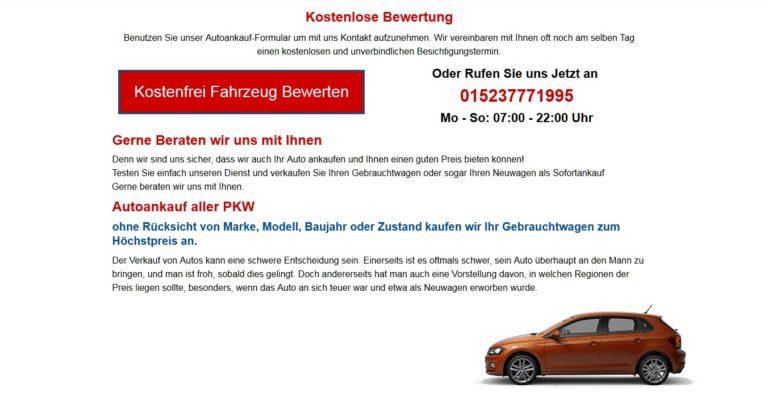 Autoankauf Bochum : Lassen sie Ihr KFZ jetzt Schnell und kostenlos bewerten