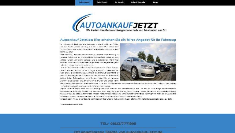Verkaufen Sie Heute Ihr Alten Auto in Auerbach zum Besten Preis