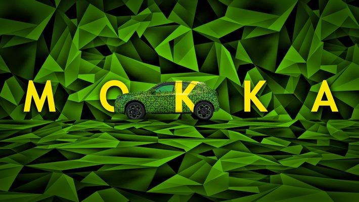 Elektrisch! Der neue Opel Mokka fährt vor