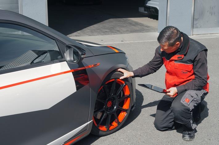 KÜS: Nach wie vor wenig Interesse an der Fahrzeugbereifung