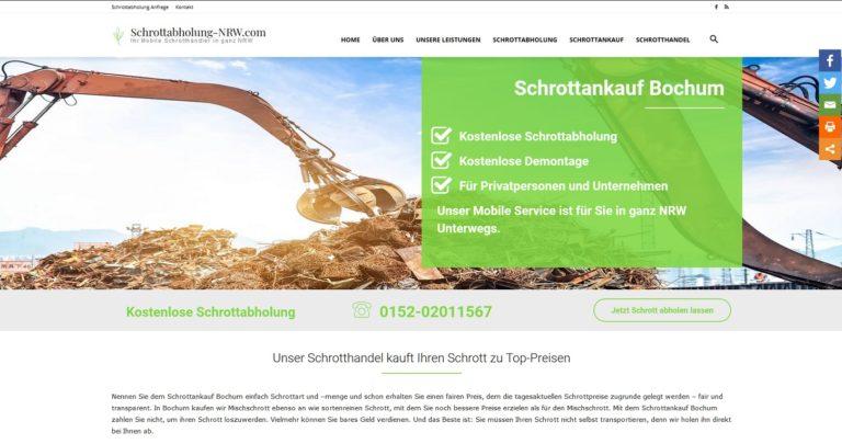 Schrottankauf Aachen: Die Schrottabholung erfolgt kostenlos – in NRW und darüber hinaus
