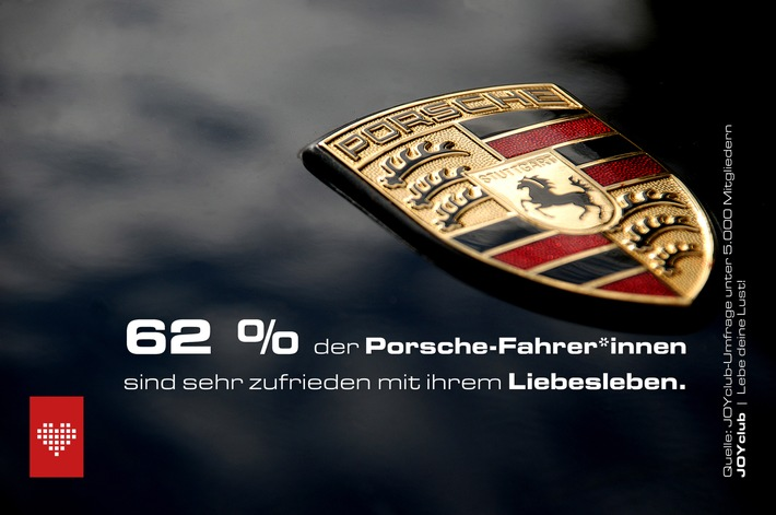 Porsche und Dacia haben die Nase vorn: Automarken spiegeln Sexualleben ihrer Fahrer*innen