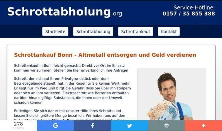 Faire Preise Und Professionelles Schrott-Recycling – Schrottankauf In Bonn