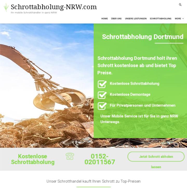 Schrottabholung Dortmund: Nutzen Sie die Möglichkeit der kostenlosen Abholung von Schrott