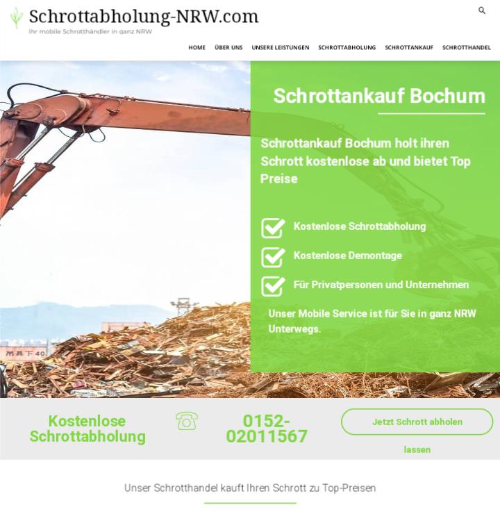 Der Schrottankauf Bochum kauft Ihren Metall- und Elektroschrott an