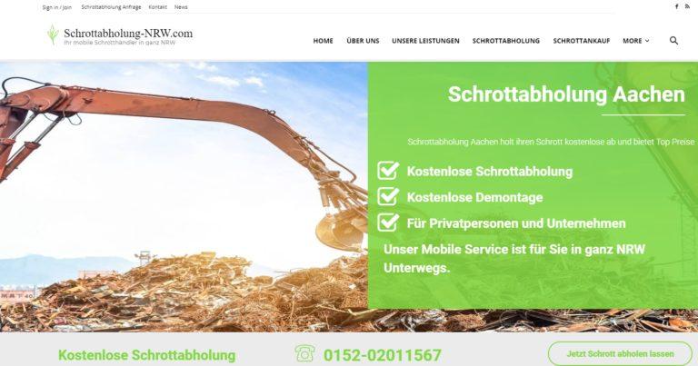 Schrottabholung Aachen: Ist es einfach, Metallschrott loszuwerden