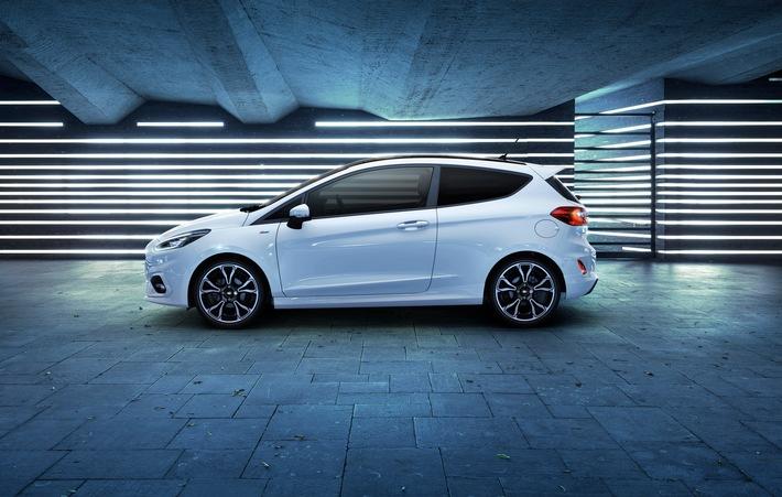 Ford Fiesta jetzt auch mit 48 Volt-Technologie für noch bessere Kraftstoffeffizienz und höheres Drehmoment