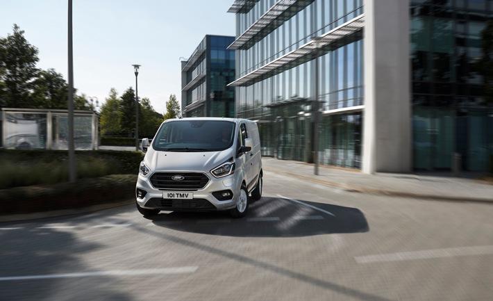 Custom PHEV-Baureihe: Ford führt Geofencing-Funktion