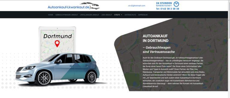 Autoankauf Dortmund – Ob LKW Ankauf oder PKW Hier werden Sie Ihren Gebrauchtwagen los