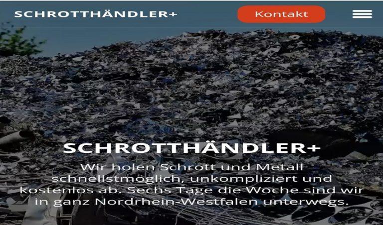 Mit dem Schrottabholung Krefeld ist es einfach, Metallschrott loszuwerden