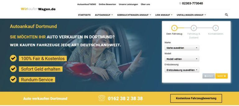 Autoankauf Wischlingen : Unkompliziertes Auto verkauf in Dortmund