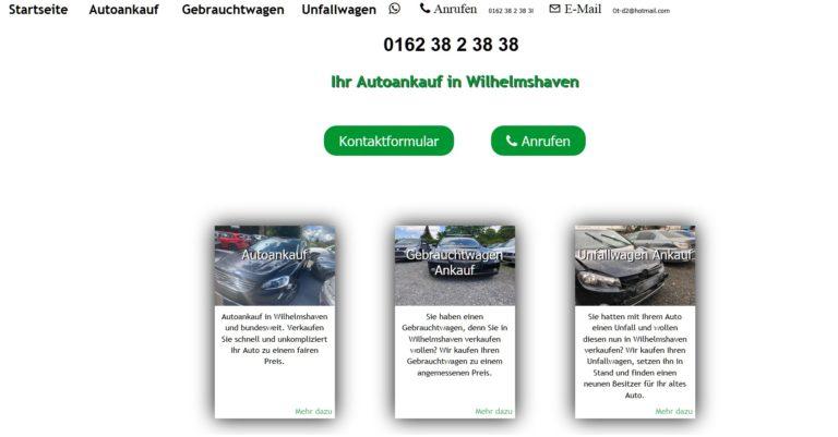 Autoankauf Wilhelmshaven: Die Kunden freuen sich über beste Konditionen beim Gebrauchtwagen Verkauf