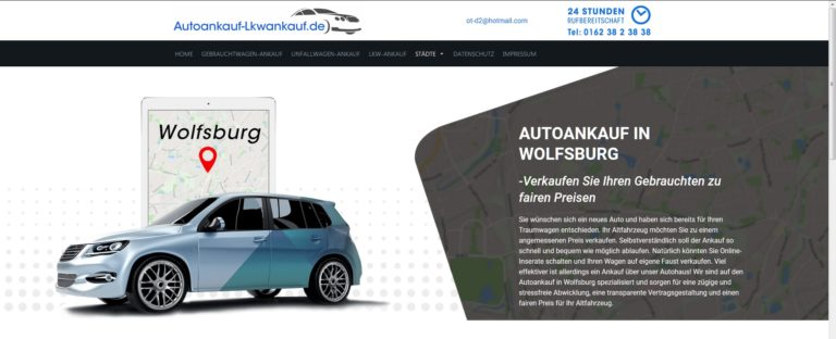 Autoankauf Düsseldorf>Seriöser Gebrauchtwagenankauf in Düsseldorf