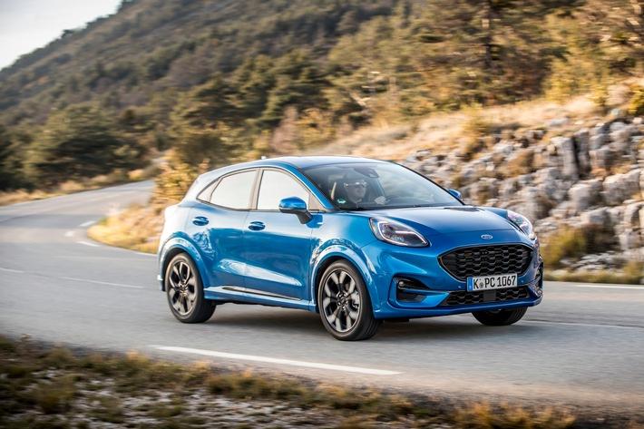 Steigender Marktanteil von Ford-Modellen mit Automatikgetriebe weist den Weg in elektrifizierte Zukunft