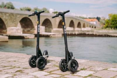 E-Scooter rollen nun durch Regensburg