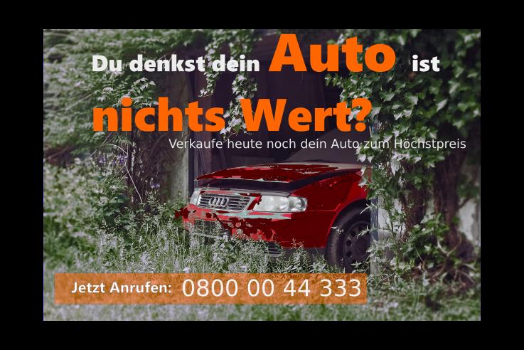 Auto defekt verkaufen – Wo verkaufe ich ein Auto mit Schaden?