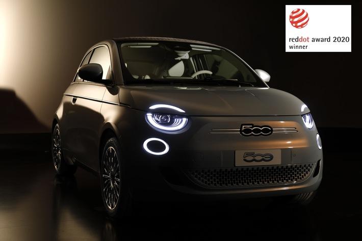 Neuer Fiat 500 mit Designpreis 'Red Dot Award' ausgezeichnet