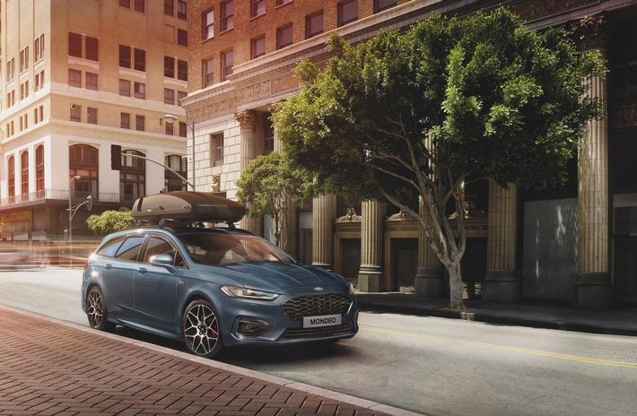 Elektrifizierungs-Offensive: Ford bietet die Mondeo-Baureihe ab sofort nur noch mit Vollhybrid- und Dieselantrieb an