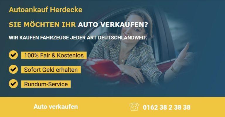 Autoankauf Herdecke – Wir kaufen ihr Gebrauchtwagen für den Export