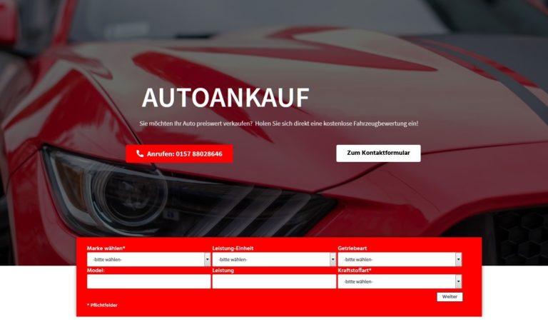 Autoankauf Flensburg: Möchten Sie Ihr Auto in Flensburg und Region verkaufen ?