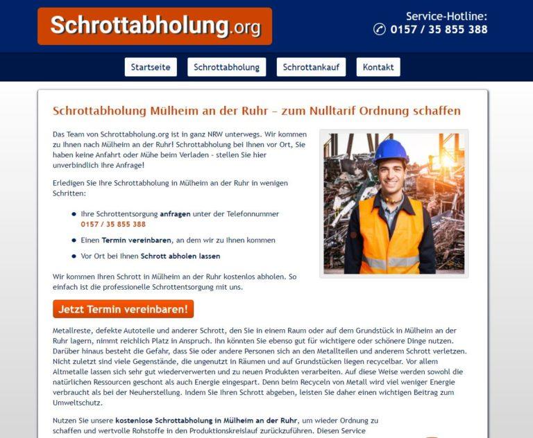 Schrottabholung Mülheim an der Ruhr – Abholung von Schrott so ein wichtiges Thema