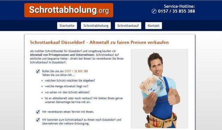 Schrottankauf Düsseldorf – eine Alternative nicht nur für sortenreinen Schrott
