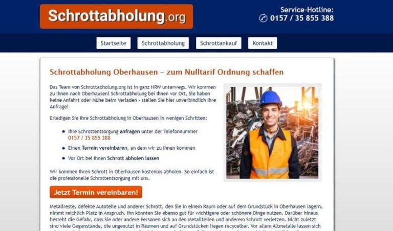Altmetallabholung Oberhausen – unterwegs in ganz NRW