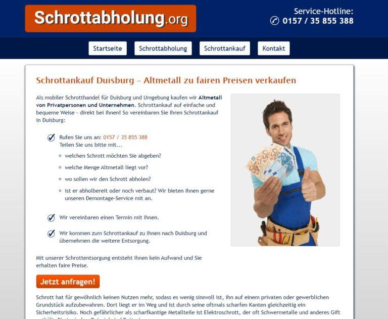 Schrottankauf Duisburg – Der Wert von altem Metall
